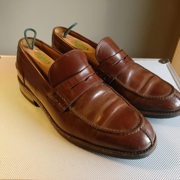 Berwick 1707 Shoes | Berwick 77 Brown